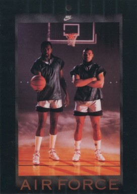 1984 Nike Poster Cards  Malone/Barkley #857 Basketball Card