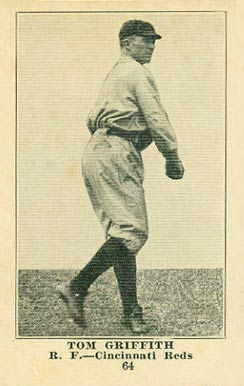 1917 Collins-McCarthy Tom Griffith #64 Baseball Card
