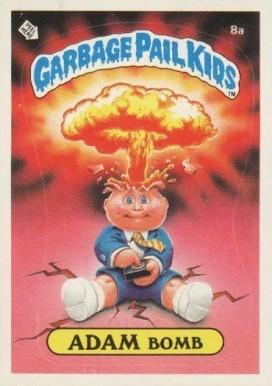 9c8c0d92179 1985 Garbage Pail Kids Series 1 Adam Bomb  8a Non-Sports Card Value ...