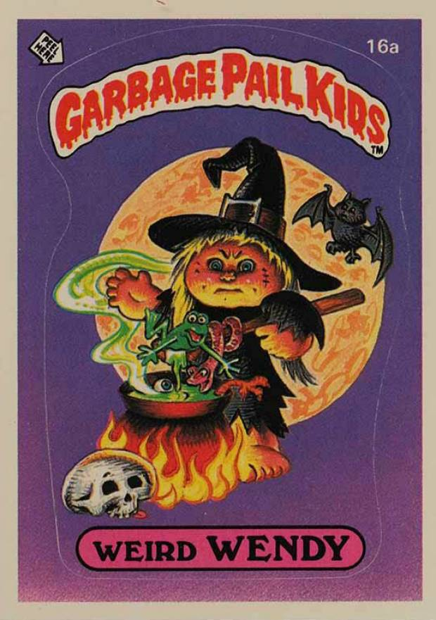 1985 Garbage Pail Kids Stickers   #16a Non-Sports Card
