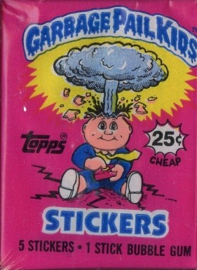 1985 Garbage Pail Kids Stickers  Wax Pack Series 1 #WP-Series 1 Non-Sports Card