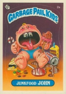 1985 Garbage Pail Kids Stickers Non Sports Card Set Vcp Price Guide