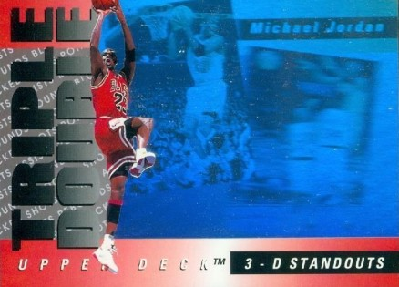 1993 Upper Deck Triple Double Michael Jordan #2 Basketball Card