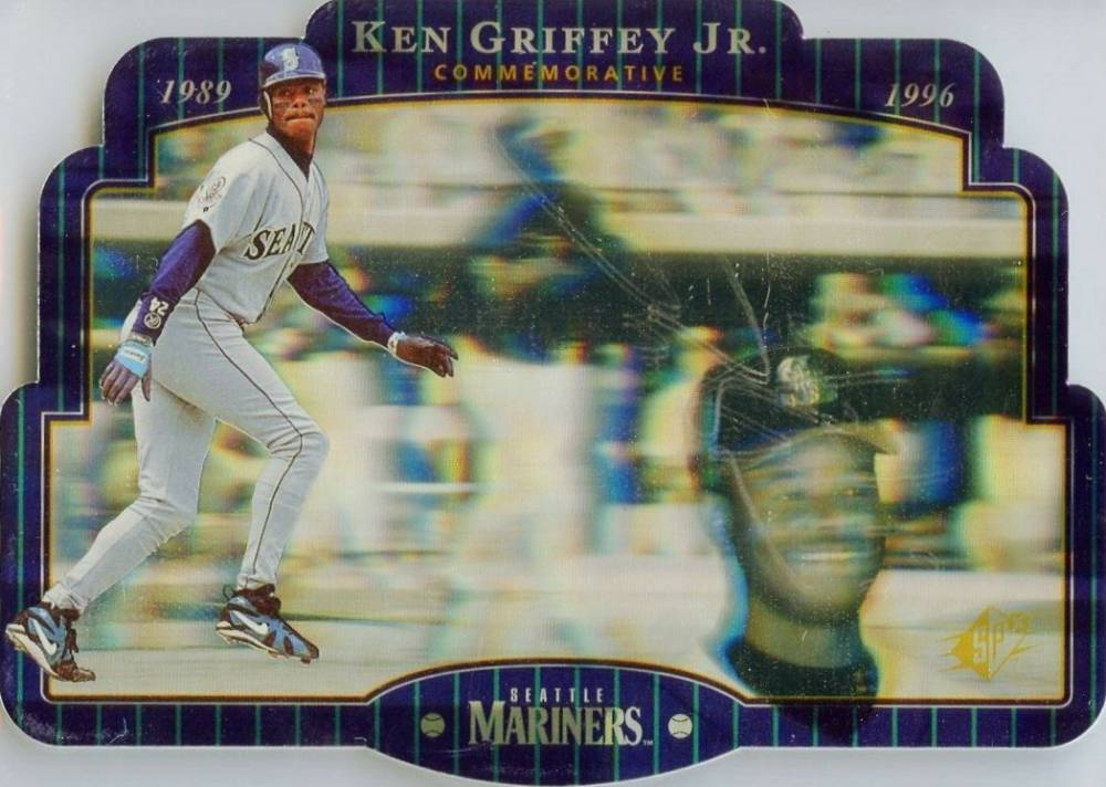 1996 SPx Ken Griffey Jr. #KG1 Baseball Card