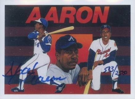 1991 Upper Deck Hank Aaron Heroes Baseball Card Set Vcp Price Guide