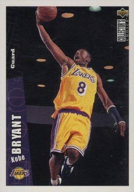 1996 Collector's Choice Kobe Bryant #267 Basketball Card