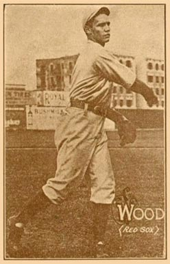 1914 Texas Tommy (Type 1) Joe Wood #50 Baseball Card