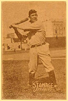 1914 Texas Tommy Type 1 Stanage #43 Baseball Card