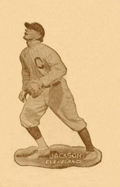 1914 Texas Tommy Type 1 Shoeless Joe Jackson 23 Baseball