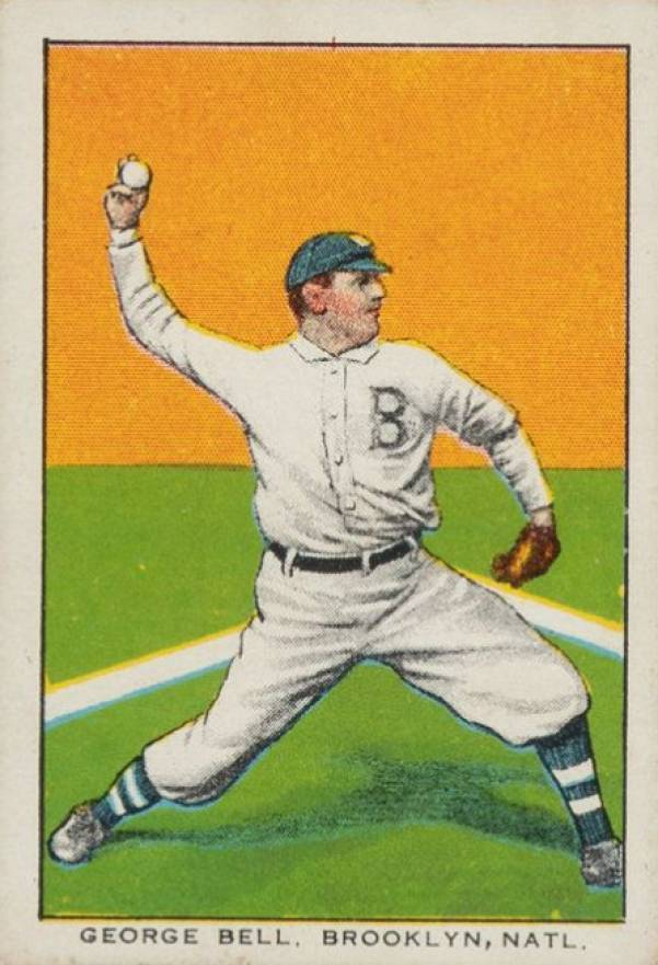 1911 General Baking George Bell #3 Baseball Card