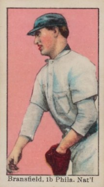 1909 American Caramel Kitty Bransfield #12 Baseball Card