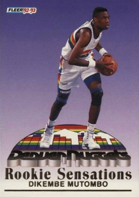 1992 Fleer Rookie Sensations Basketball Card Set Vcp Price Guide
