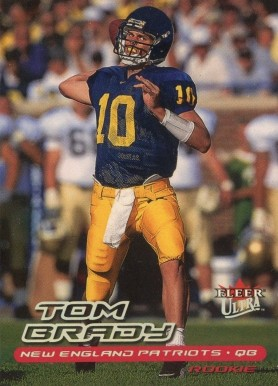 2000 Ultra Tom Brady #234 Football Card