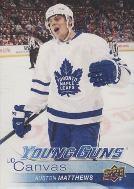 2016 Upper Deck Canvas Auston Matthews #C211 Hockey Card