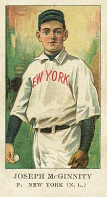 1908 American Caramel Joe McGinnity #14 Baseball Card
