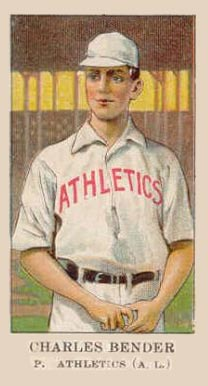 1908 American Caramel Chief Bender #1 Baseball Card