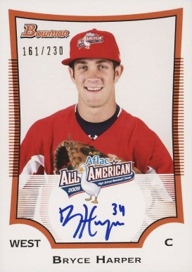 2009 Bowman Aflac Auto Baseball Card Set Vcp Price Guide