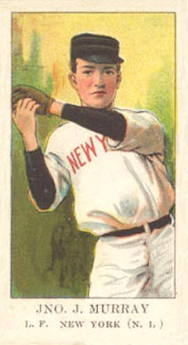 1909 American Caramel Red Murray #23 Baseball Card