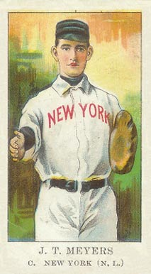 1909 American Caramel Chief Meyers #21 Baseball Card