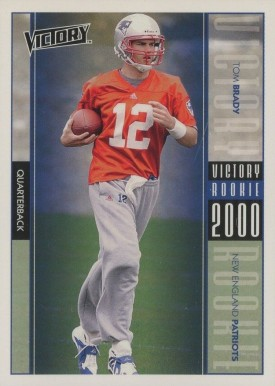 2000 Victory Tom Brady #326 Football Card