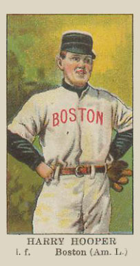 1910 American Caramel Harry Hooper #11 Baseball Card