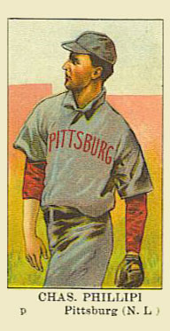 1910 American Caramel Deacon Phillippe #23 Baseball Card