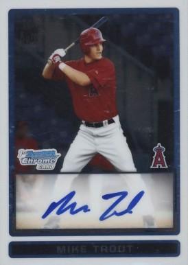 2009 Bowman Chrome Draft Prospects Auto Baseball Card Set Vcp