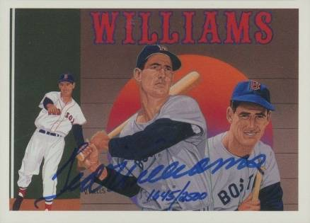1992 UD Heroes Checklist: Ted Williams #36a Baseball Card