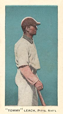 1911 George Close Candy Tommy Leach, Pitts. Nat'l #20 Baseball Card
