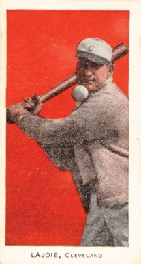 1911 George Close Candy Nap Lajoie #19 Baseball Card